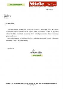 Certifikat Myval 2